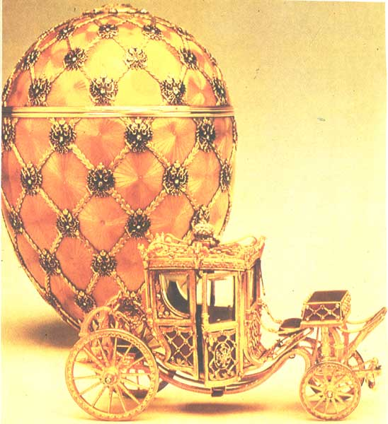 Фаберже К. Яйцо и карета