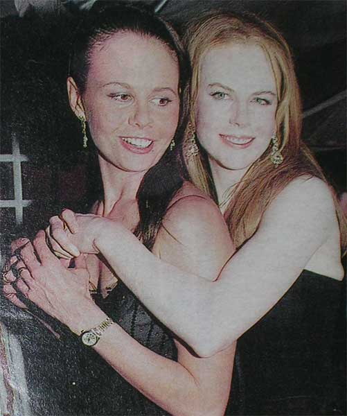 Antonia and Nicole Kidman