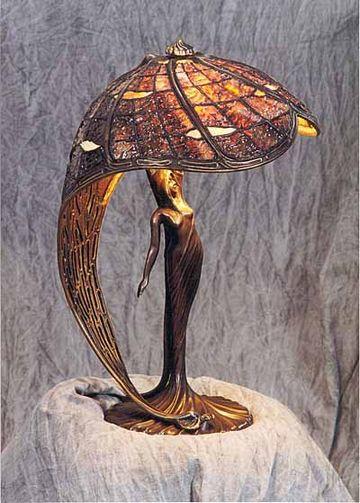 Тиффани лампы своими руками