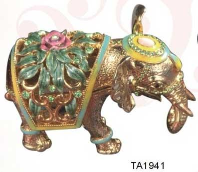 шкатулка ювелирная «Слон» ornament box «Elephant». Double Win Co
