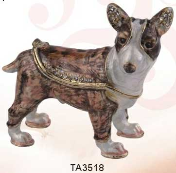 шкатулка ювелирная «Собака» ornament box «Dog». Double Win Co