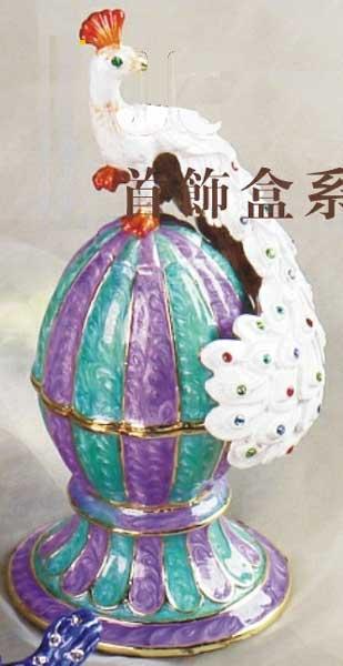 шкатулка ювелирная «Павлин» ornament box «Peacock». Double Win Co