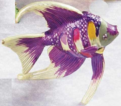 шкатулка ювелирная «Рыба» ornament box «Fish». Double Win Co